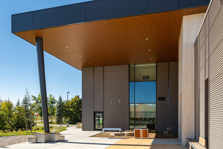 Rizzardo Health & Wellness Centre, exterior, Gordon + Gordon Group, Owner Representative
