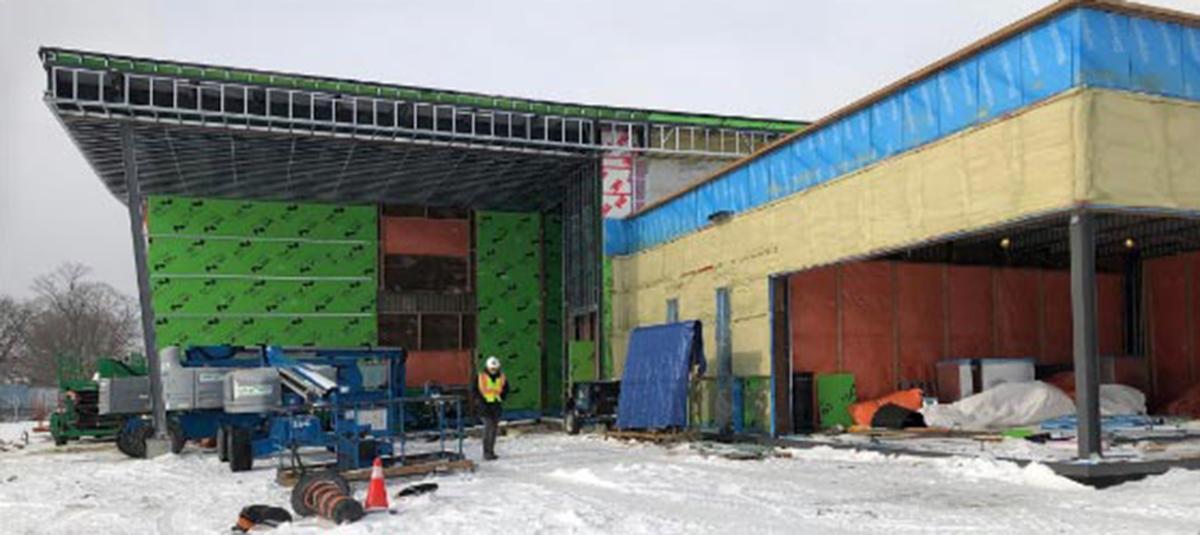 Rizzardo Health & Wellness Centre, Exterior, Under Construction